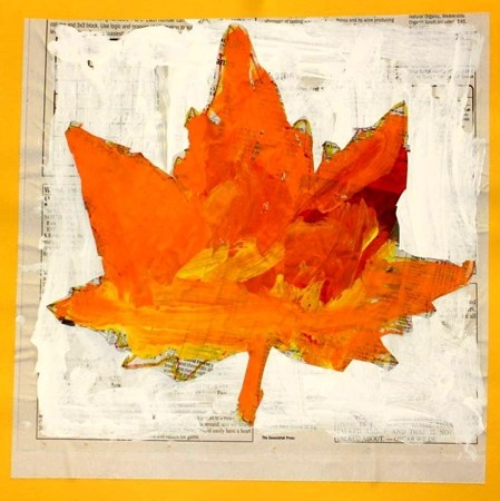 """""""K- Fall Leaves Painted With Fall Colors""""  Artsonia Art Museum :: Artwork by Isabella3969"""