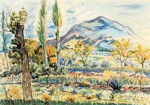 Fique Landschaft - (Rafael Zabaleta Fuentes)