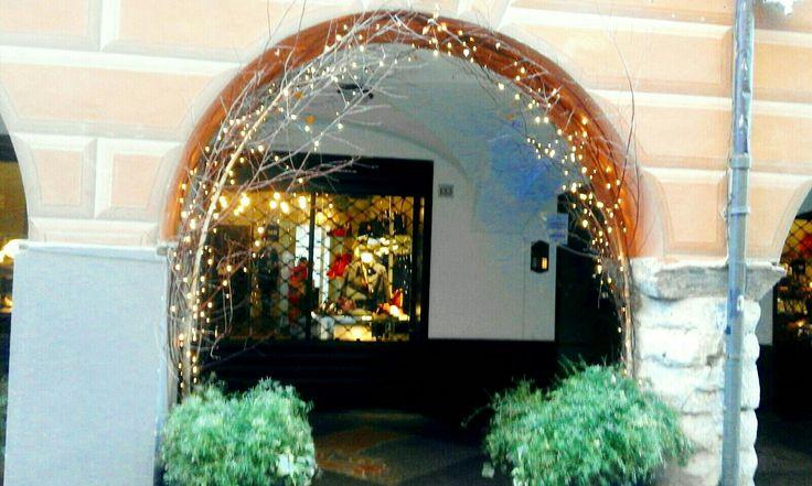 Luminarie portici