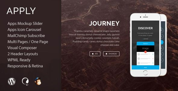 Apply - App Agency WordPress Theme