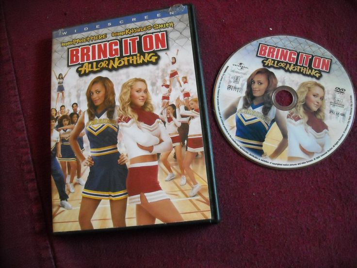Bring It On - All or Nothing DVD Hayden Panettiere Solange Knowles-Smith ~~ for sale at Wenzel Thrifty Nickel eCRATER