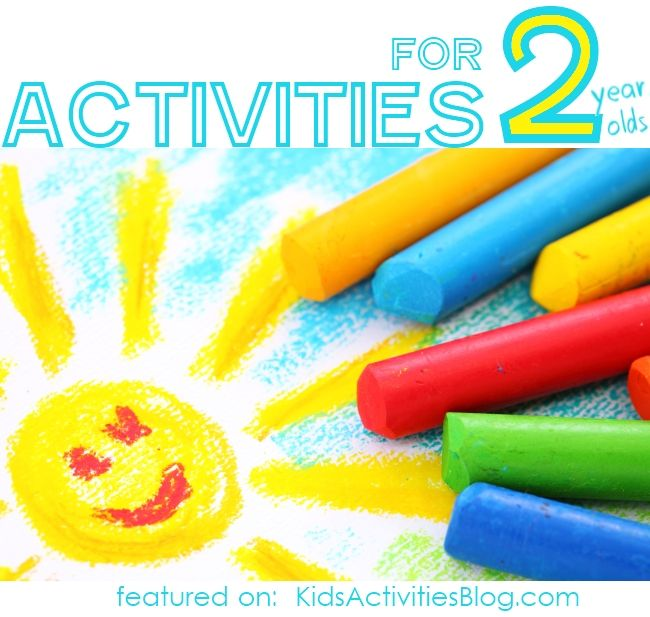 40 Activities for Two Year Olds. Fine motor, sensory, and more.