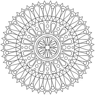 101 best images about mandalas and coloring pages on pinterest - Drawing To Color