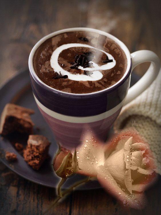 Фото гифка доброе утро кофе будешь