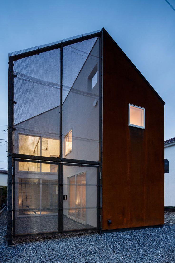 Mikroklima wohnhaus in tokio