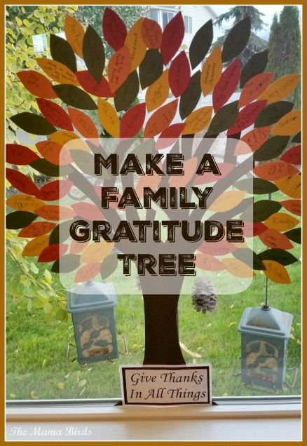 Make a Family Gratitude Tree