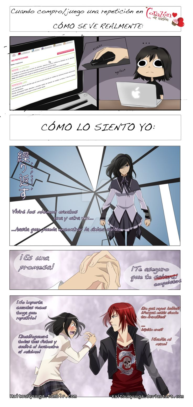 Repeticiones de Amour Sucre por KaitouHyuuga