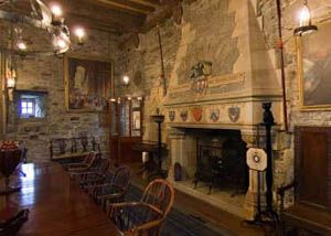 Eilean Donan Castle - Island Castle in Scotland( inside castle ) I could stay here forever