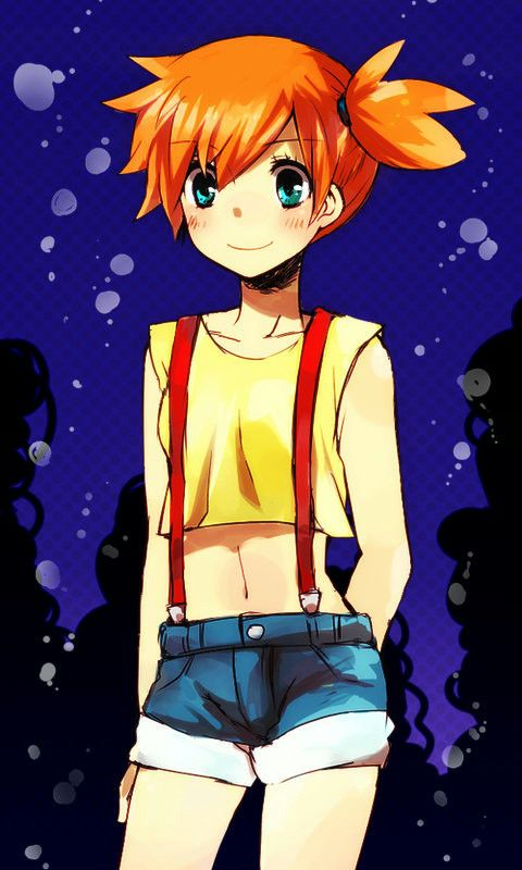 Misty from pokemon luv this pic btw