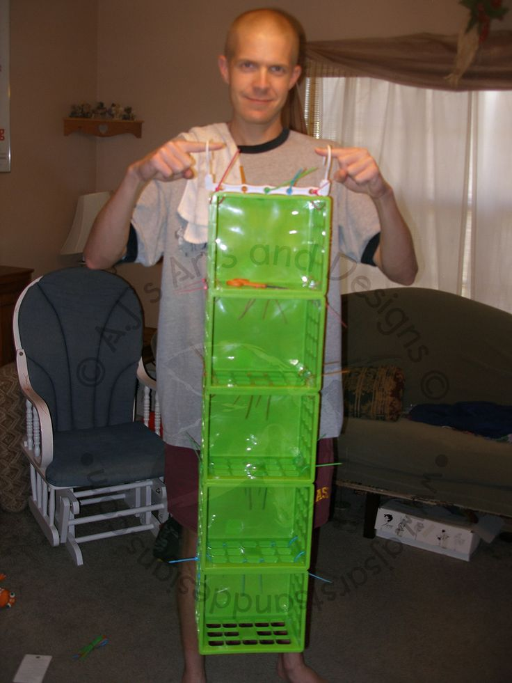 A.J.'s Arts and Designs: How to Make a Clothes Organizer (Super Easy!)