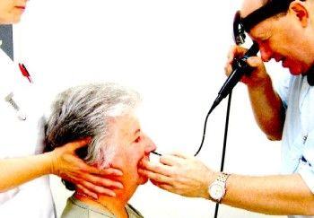 ENT Doctor - flexible laryngoscopy