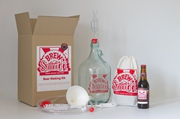 The BrewSmith Beer Making Kit - with this kit anyone can make great beer!