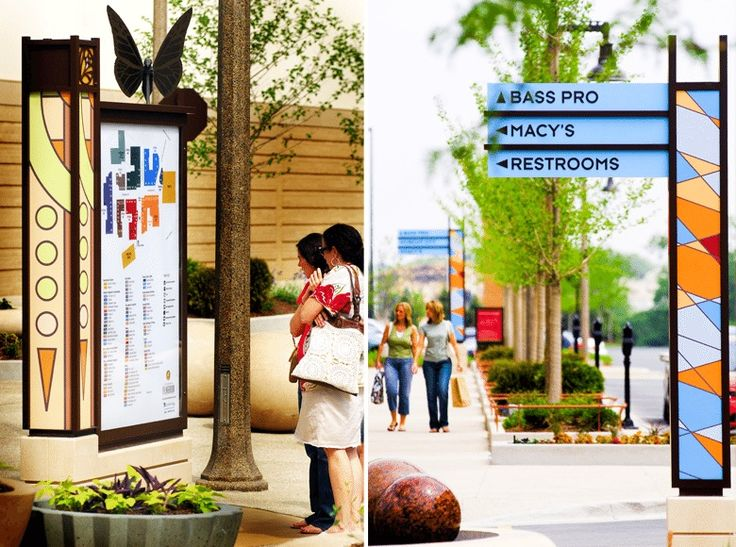 The Promenade Bolingbrook   Bolingbrook, Illinois, USA   Graphic Design:  RSM Design,
