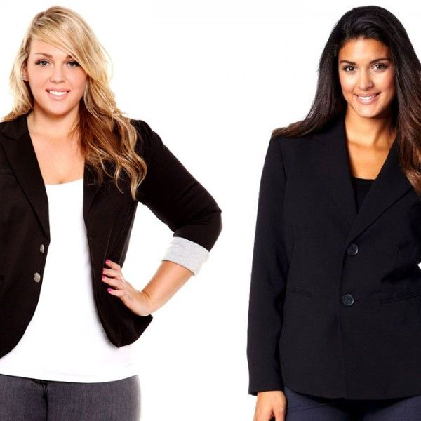 How to Perfectly Measure Yourself for Plus Size Blazers - CurvyGuide