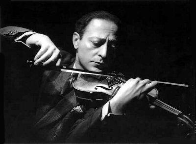 Violinist,  Jascha Heifetz  -   by George Hurrell ~Repinned Via Charley Durham