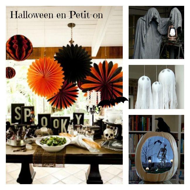 Decoracion De Halloween ~ Ideas para Halloween decoraci?n infantil, recetas para ni?os Petit