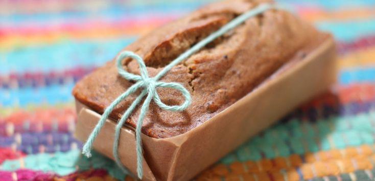 mama & bebe banana walnut bread vegan and gluten free