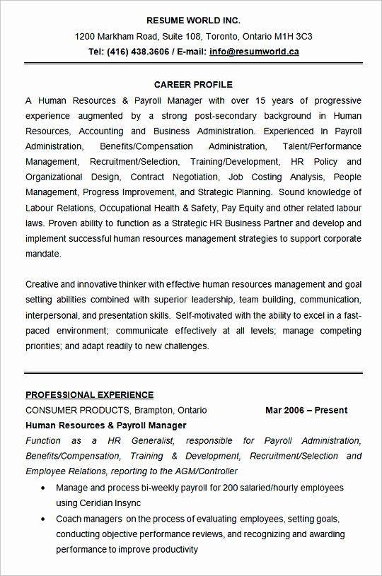 pin on best resume 2020