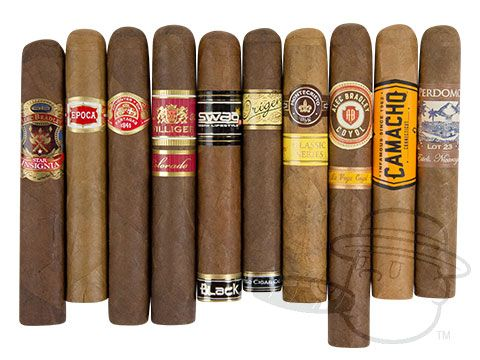 Opening Day Sampler Various Sized Cigars—10 Cigars - Best Cigar Prices