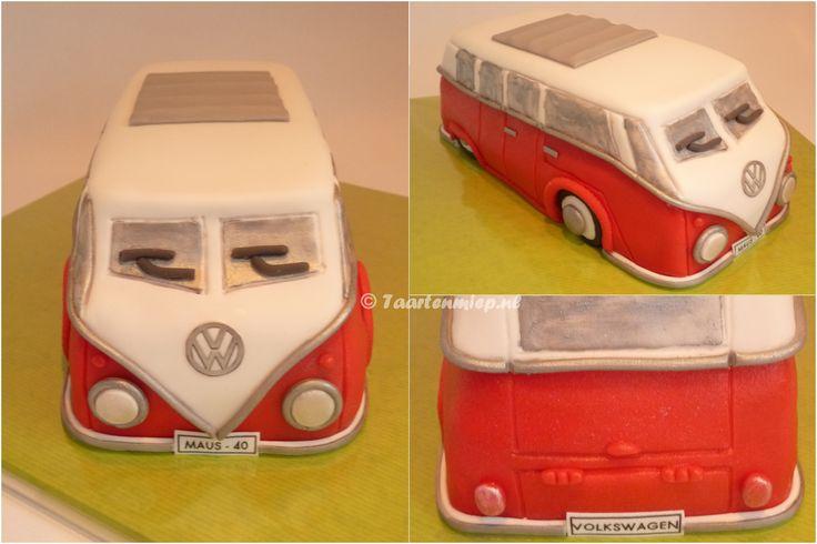 VW-bus taart (made by Taartenmiep).