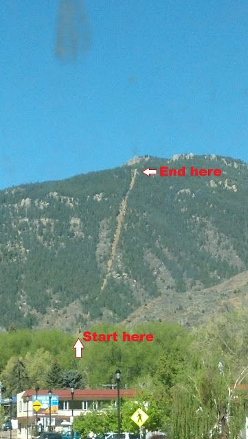 The Incline - Manitou Springs, Colorado  #hiking #coloradosprings #colorado ... one day, @Connor McCoy McCoy Lee