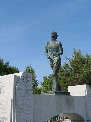 """""""Terry Fox Memorial"""" -- Thunder Bay, Ontario"""