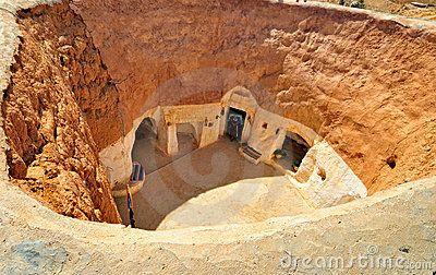 κατοικημένος τρωγλοδύτης σπηλιών