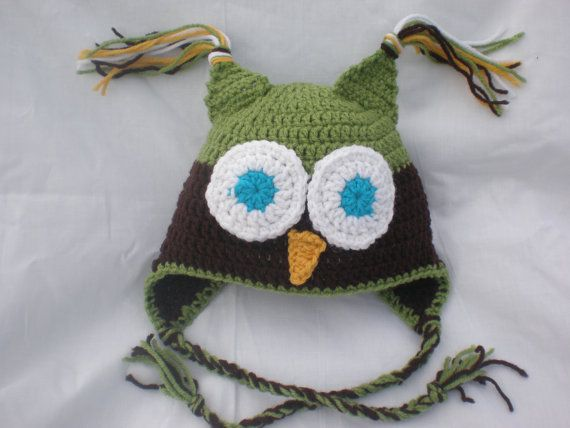 Hey, I found this really awesome Etsy listing at https://www.etsy.com/listing/165416673/owl-hat-crochet-owl-hat-boy-toddler-hat