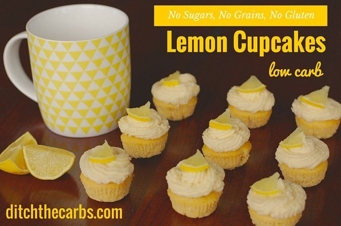 Read why this recipe doesn't even peel the lemons!! Amazing low carb lemon cupcakes all made in the food processor. Sugar free and gluten free.