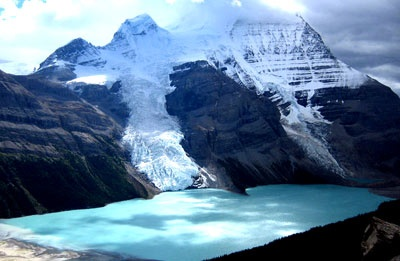 Berg Lake, Mount Robson in the Canadian Rockies is one of the best hikes in the world.