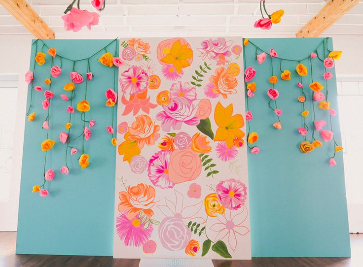 15 Creative Ceremony Backdrops via Project Wedding