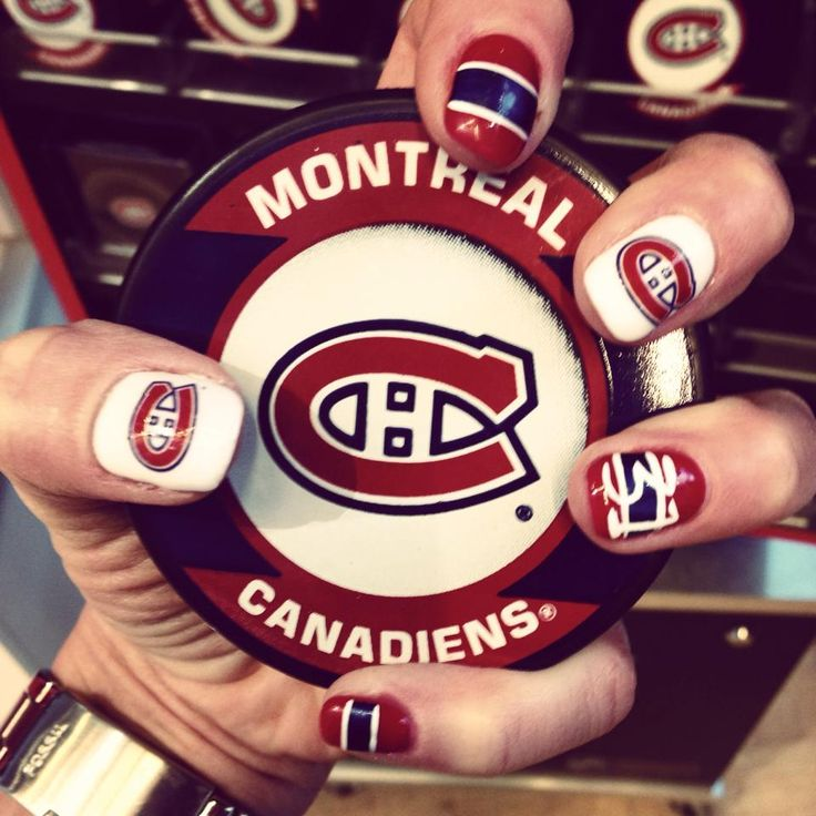 11 best mode canadiens habs fashion images on pinterest great habs nail art soumis par submitted by prinsesfo Image collections