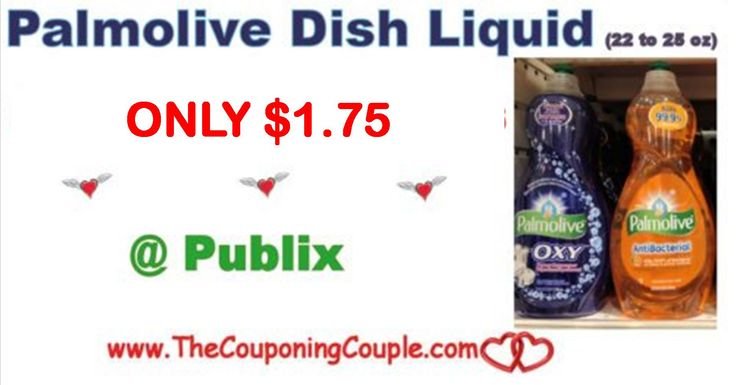 Palmolive Dish Liquid (22 to 25-oz) Only $1.75 @ Publix this week starting 11/15 or 11/16. Be sure to add this deal to your shopping list  Click the link below to get all of the details ► http://www.thecouponingcouple.com/palmolive-dish-liquid-22-to-25-oz-only-1-18-or-0-68-publix/ #Coupons #Couponing #CouponCommunity  Visit us at http://www.thecouponingcouple.com for more great posts!