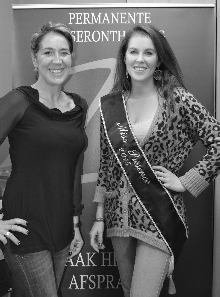 Miss Présence 2015, Yana Parmentier-Leman geniet deze zomer van een gladde huid dankzij laserontharing door 'ZachtOntharen'