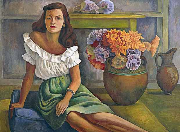 Retrato de mujer | Diego Rivera