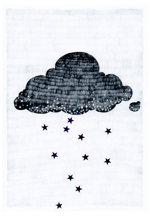Stargazer Cloud Postcard <3 Melkstore