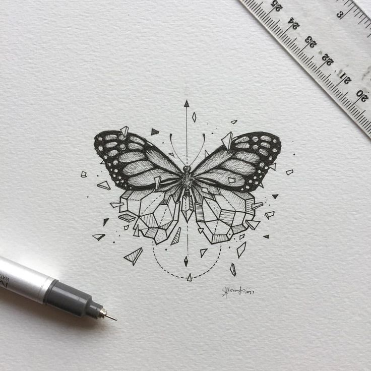 49.1K vind-ik-leuks, 167 reacties - K E R B Y   R Ø S A N E S (@kerbyrosanes) op Instagram: 'Geometric Beasts | Butterfly One of the highly requested 'beasts' for the series. The postcard…'