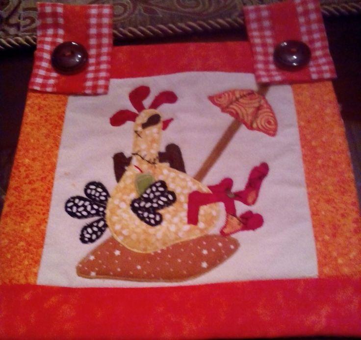 Patchwok paneles para cortina de cocina
