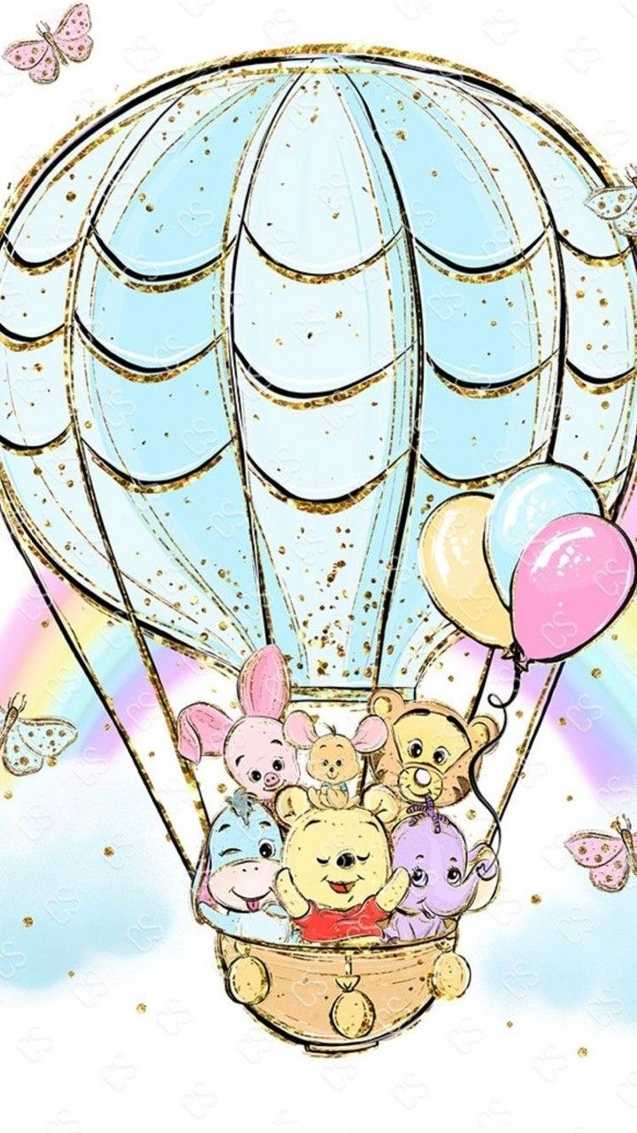 Pooh And Friends Cute Disney Wallpaper Disney Wallpaper Wallpaper Iphone Disney