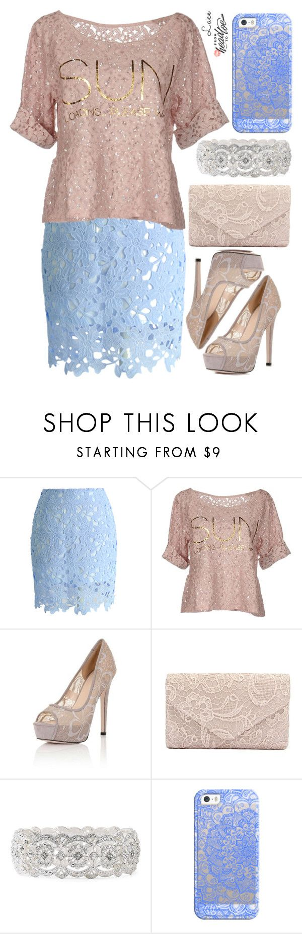 """Over 2200 Members In The Group: Pretty Pastels"" by deedee-pekarik ❤ liked on Polyvore featuring Chicwish, Au Soleil de Saint Tropez, Little Mistress, Vieste Rosa and Casetify"