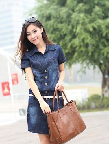 Free Shipping 3XL 4XL Plus Big Size 2014 New Summer Hot Sell Sexy Elegant Korean Woman Female Denim Jeans Tube Dress Sundress US $18.99