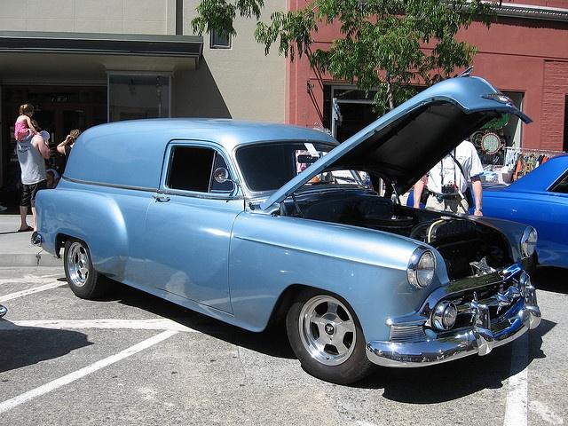 1953 Chevrolet Sedan Delivery, sweet..