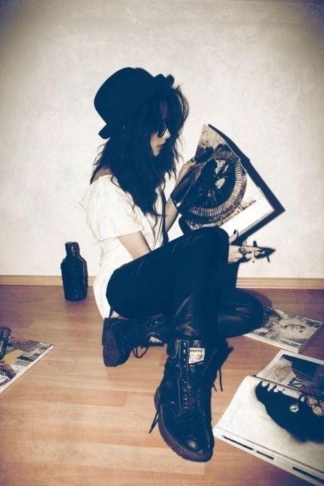 Tumblr | JM hipster girl | hipster | Pinterest | Rocker ...