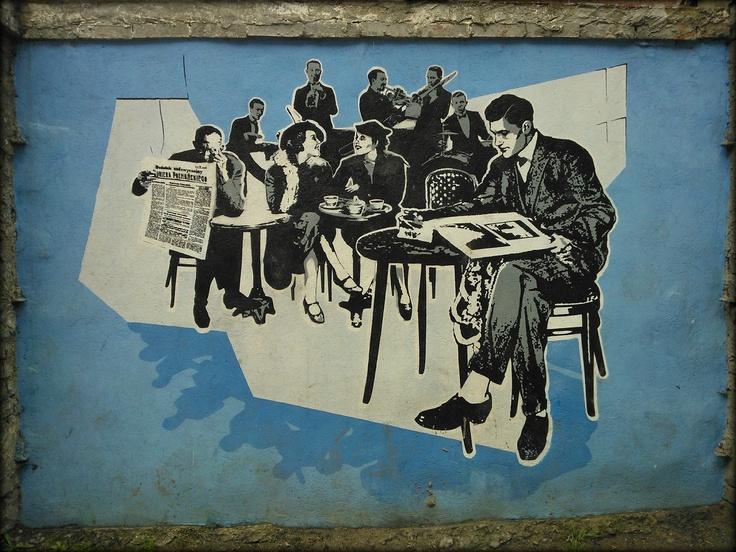 Poznan Poland, ul.Staszica. Dawna kawiarnia made by Małgorzata Ciernioch, Damian Christidis, Kasper Grubba