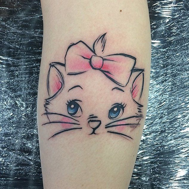 60 tattoos for cat lovers