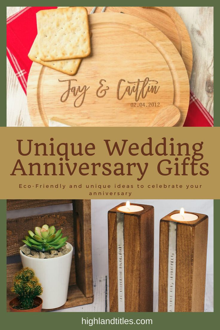 Unique Wedding Anniversary Gifts for Couples in 2020