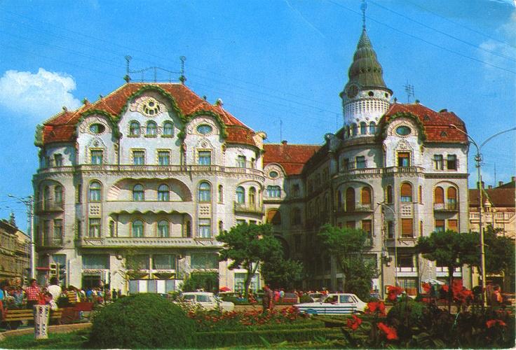 postcard, Nagyvárad (Oradea) in the 1980s