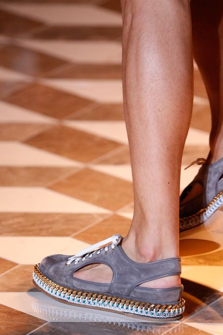 Versace | Spring 2015 Menswear Collection | Style.com #shoes