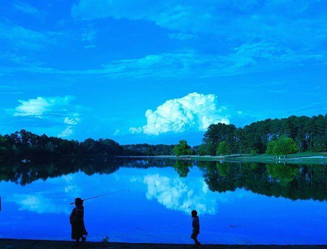 Shamrock Lake. Jonesboro ,Georgia @kevwaters