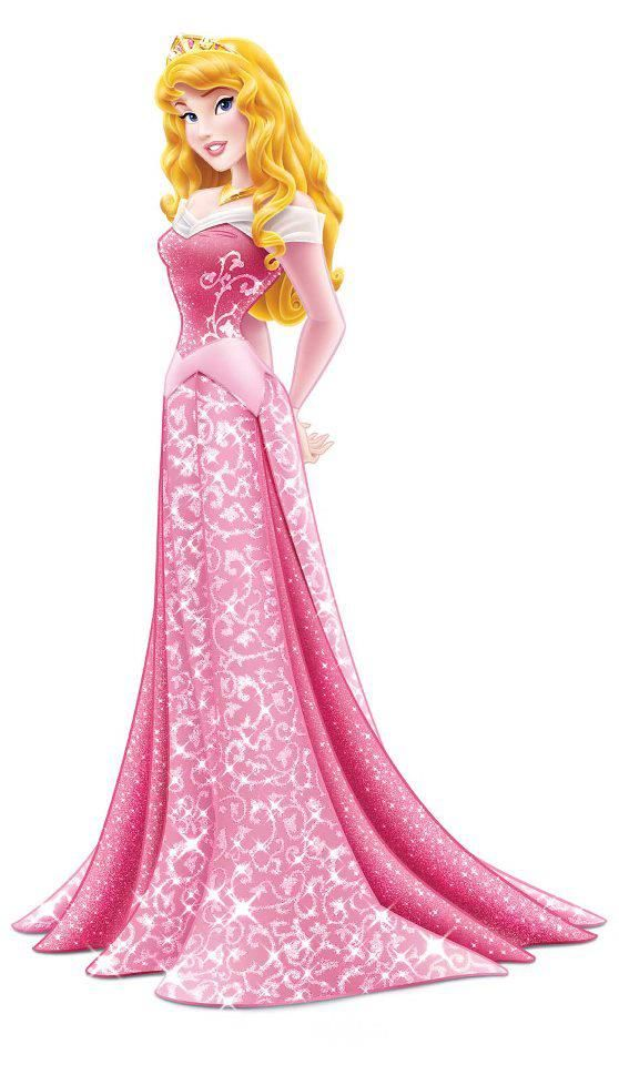 Princess Aurora was the main character of Disney's Sleeping Beauty. The film is based on the classic fairy tale involving a beautiful princess, a sleeping spell and a handsome prince. Aurora has the distinction of being both the Disney princess with the least amount of screen time and singing more of her lines than speaking them. Aurora was the only child of King Stefan. She marries Prince Phillip, the first born son and heir of King Hubert. Aurora is 16 years old.